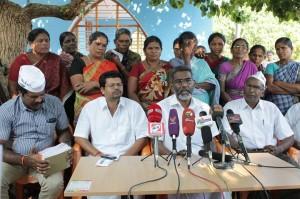 Pressekonferenz der AAP am 28.2.14 in Idinthakarai