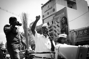 S.P.Udayakumar im Wahlkampf - Foto von Amirtharaj Stephen -