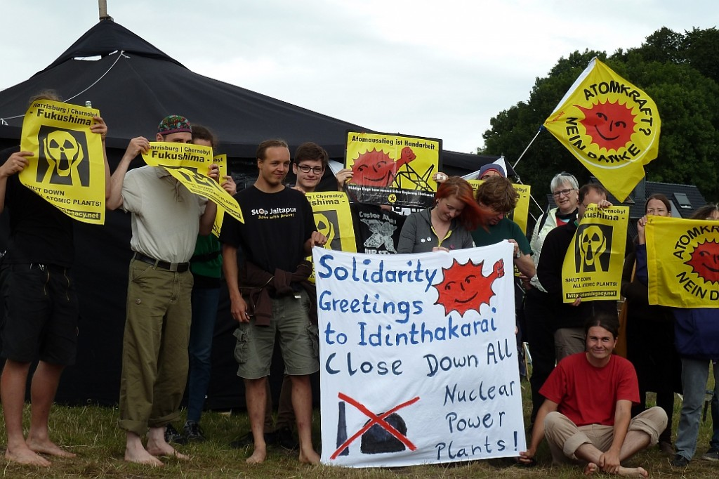 Picture 1: Anti-Nuclear Camp Germany 2014